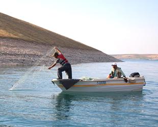 Şanlıurfa'daki balıkçılara tam destek geldi