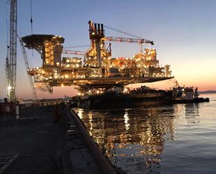 Şah Deniz-2 Projesi'nin Güneydoğu Kanadı'nda üretime başlandı