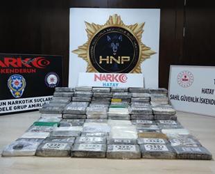 İskenderun Körfezi'nde bir gemide 176 kilogram kokain ele geçirildi