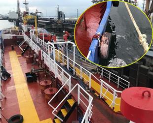 İzmit Körfezi'ni kirleten gemiye 530 bin lira para cezası kesildi