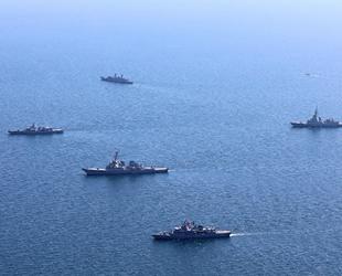 Sea Breeze Tatbikatı'na katılan gemiler, bir süre daha Karadeniz'de kalacak