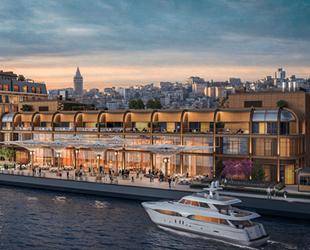 Galataport İstanbul'a ilk gemi, Ağustos'ta gelecek