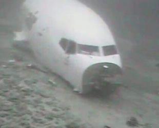 ABD'de düşen kargo uçağının su altındaki fotoğrafları ortaya çıktı