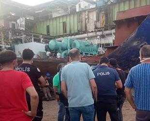 Aliağa METAŞ Gemi Söküm'de patlama: 1 ölü, 1 yaralı