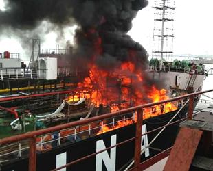 KETALING isimli gemide yangın çıktı