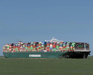 Ever Given isimli konteyner gemisi, Mısır'dan ayrıldı