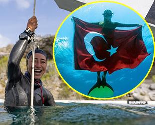 Milli sporcu Şahika Ercümen, Türkiye rekoru kırdı