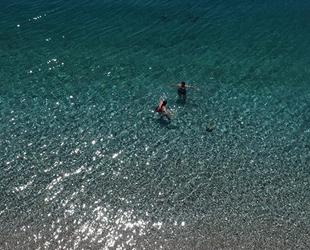 Antalya'nın deniz suyu mükemmel çıktı