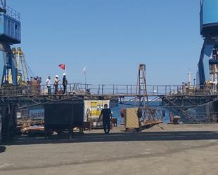 Gazimağusa Limanı'nda geminin halatı koptu: 1 ölü, 3 yaralı