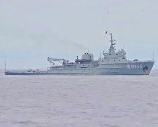 Çin savaş gemisi, Filipin karasularına girdi