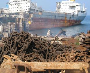 Hurda gemilerin geri dönüşümünden 157 milyon dolarlık gelir sağlandı