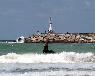 Şile'de denize girme yasağı uzatıldı