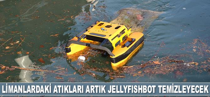 Limanlardaki atıkları artık Jellyfishbot temizleyecek