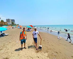 Mezitli Belediyesi, plajlara özel düzenleme yaptı
