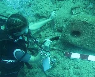 Su altı arkeologları, 2020 yılında Akdeniz'de 52 batığı kayda aldı