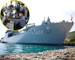 TCG Bayraktar gemisinin içi ilk kez görüntülendi