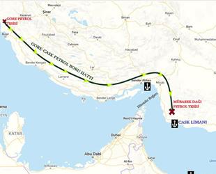 İran, yeni petrol ve sıvı yük limanı Jask'ın açılışını gerçekleştirdi