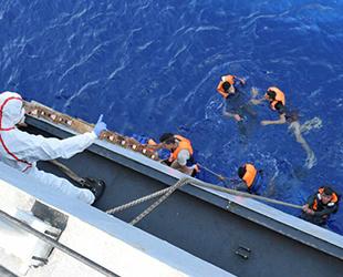 Akdeniz'de 2021 yılında 970 göçmen hayatını kaybetti