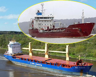 ORASUND ve BBC PARANA isimli gemiler, Kiel Kanalı'nda çatıştı