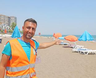 Mezitli Belediyesi, Soli Pompeiopolis Parkı'nda 'Aile Plajı' oluşturdu