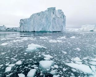 Son 2 günde 17 milyar ton buzul yok oldu