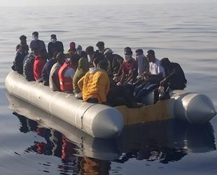 İzmir açıklarında 61 düzensiz göçmen kurtarıldı
