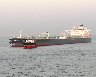NISSOS SIKINOS isimli tanker, Ambarlı açıklarında arızalandı