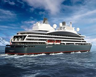 Vard Tersanesi, dünyanın ilk hibrit yolcu gemisini Ponant'a teslim etti