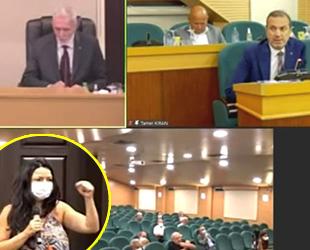 Tamer Kıran'dan Yeşim Yeliz Egeli'ye sert tepki: Konuşmama müdahale etmeyin