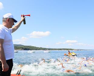 Açık Su Yüzme Yarışı, Kandıra'da başladı