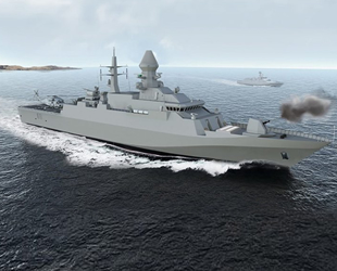 Türkmenistan Donanması, Deniz Han isimli korvet teslim aldı