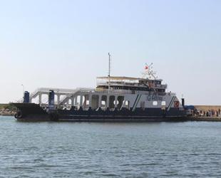 'Kilitbahir' gemisi, Türkeli'den ilk tahliye seferini gerçekleştirdi