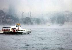 Lodos İstanbul'u silkeliyor