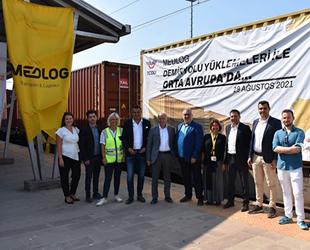 MEDLOG Türkiye, Avrupa tren ağını Macaristan'a kadar genişletti