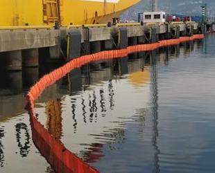 İzmit Körfezi'ni kirleten gemiye 3 milyon 411 bin TL ceza kesildi