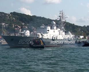 Grigoriy Kuropyatnikov isimli gemi, Sarıyer'e demir attı