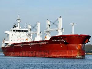 M/V FOUR EMERALD, 15 milyon 250 bin dolara Deval Denizcilik'e satıldı