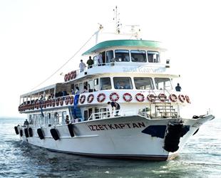 Bursa'da 'Mavi Tur'la deniz sefası başladı