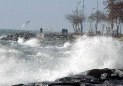 Lodos, Marmara'da etkili oluyor