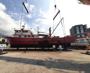 R/V İSTE 1 araştırma gemisi, bakıma alındı