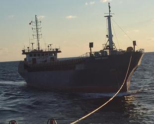 HAPPY WOLF isimli gemi, İstanbul Boğazı'nda arızalandı