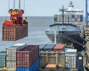 Elleçlenen yük ve konteyner miktarı Ağustos'ta arttı