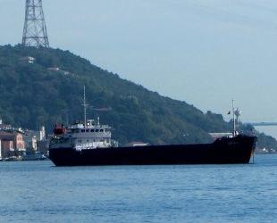 DUNE 2 isimli gemi, İstanbul Boğazı'nda arızalandı
