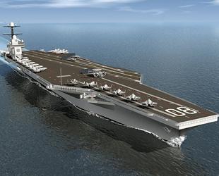 ABD, CVN 81 Doris Miller nükleer uçak gemisi inşa ediyor