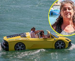 Ferda Atalay, ablası ile kurduğu deniz otomobili hayalini gerçekleştirdi