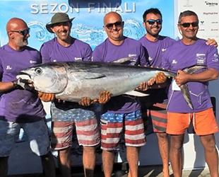 Tuna Masters Alaçatı Balıkçılık Turnuvası sona erdi