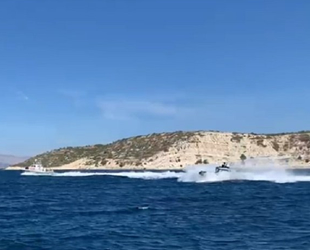 Yunan Sahil Güvenlik ekipleri, Türk karasularında Türk teknesini taciz etti