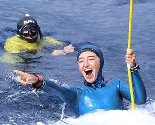 Milli sporcu Şahika Ercümen, 2 altın madalya birden kazandı