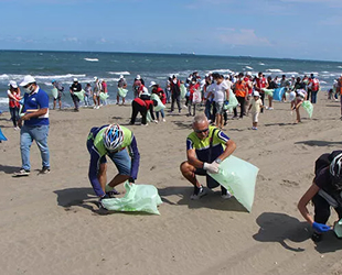 Türkiye'de denizlerden 2 milyon 850 bin ton atık çıktı