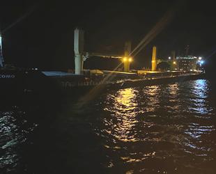 Levantes ve Clipper Como isimli gemiler, Bozcaada'da çatıştı